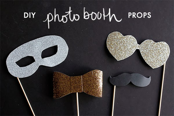 diy photo booth props earl grey creative