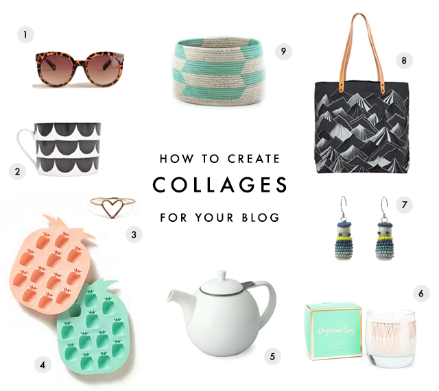Making Product Collages for your Blog