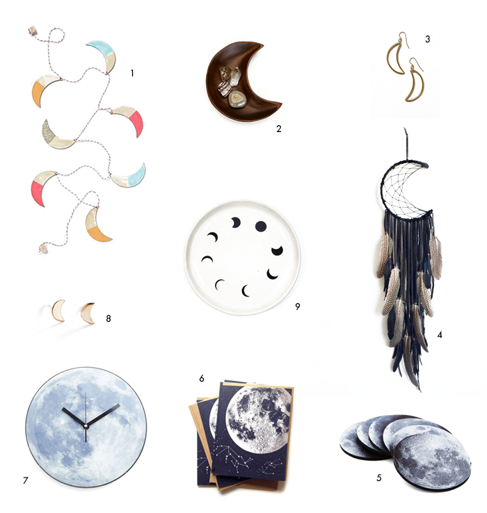 Moon Inspired Products | Earl Grey Creative