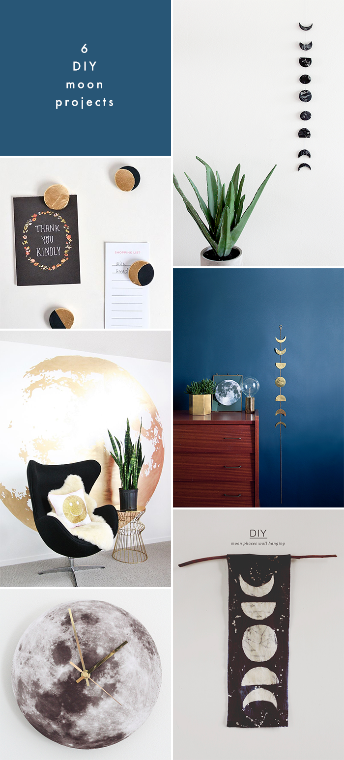 6 Moon DIY Projects | Earl Grey Creative