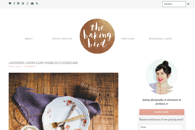 Wordpress Blog Design | Earl Grey Creative