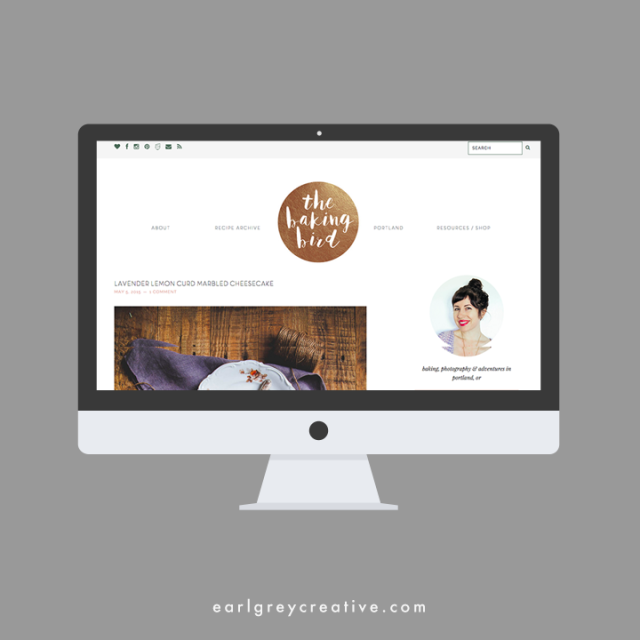 Logo + Blog Design | Earl Grey Creative