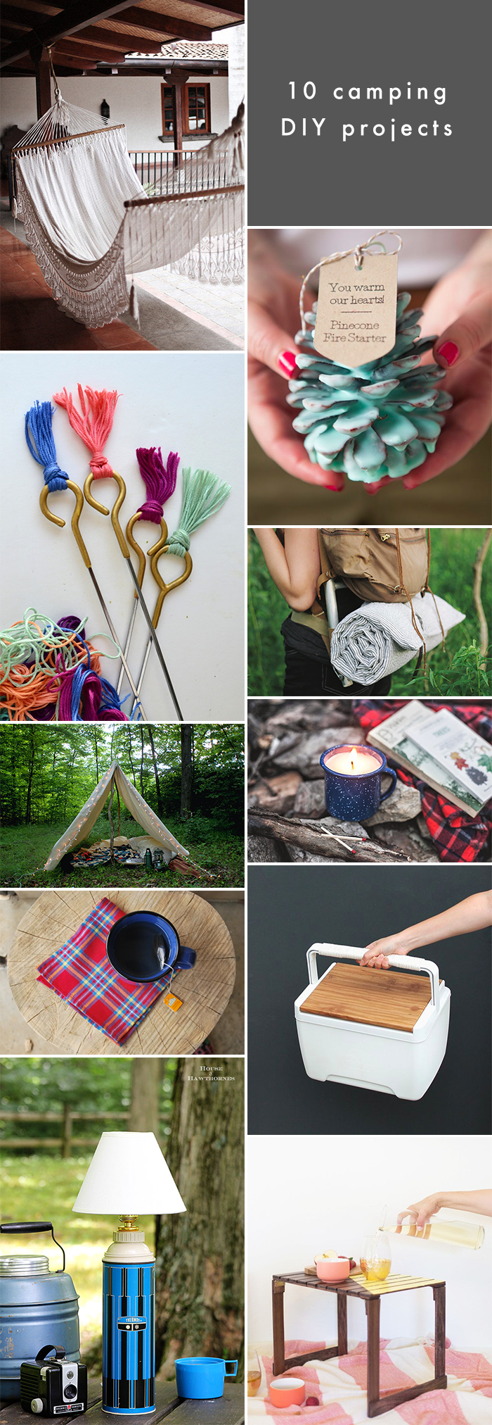 10 Camping DIY Projects to Try This Summer