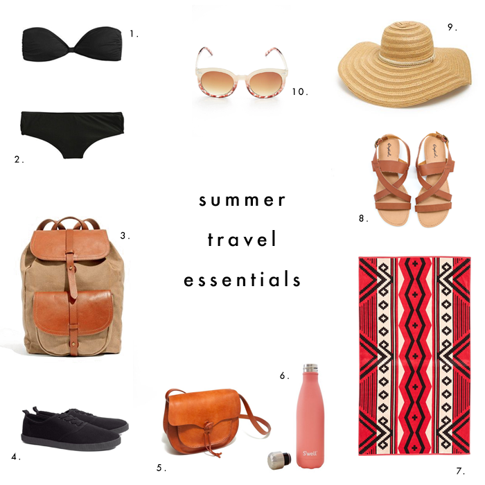 Summer Travel Essentials | Earl Grey Creative