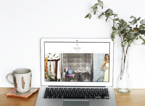 WordPress Design & Development for Bramble Workshop | Earl Grey Creative